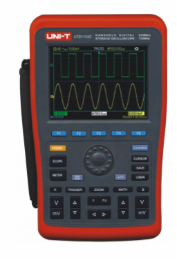 UNI-T UTD1102C Handheld Digital Storage Oscilloscopes
