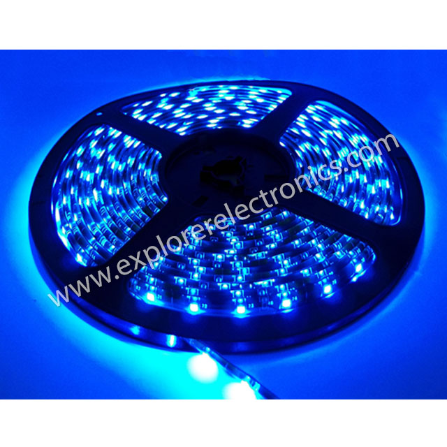 LED Flexible Strip 12VDC (SM3528-Blue)