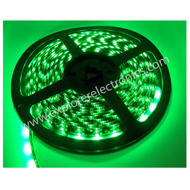 LED Flexible Strip 12VDC (SM3528-Green)