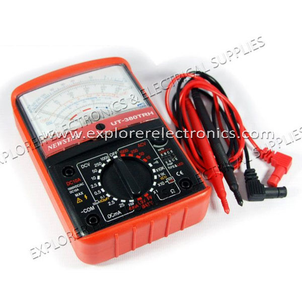 Newstar Professional Analog Multimeter (UT-380TRH)