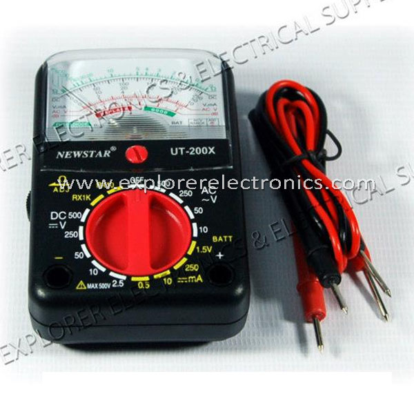 Newstart Pocket Sized Analog Tester (UT-200X)