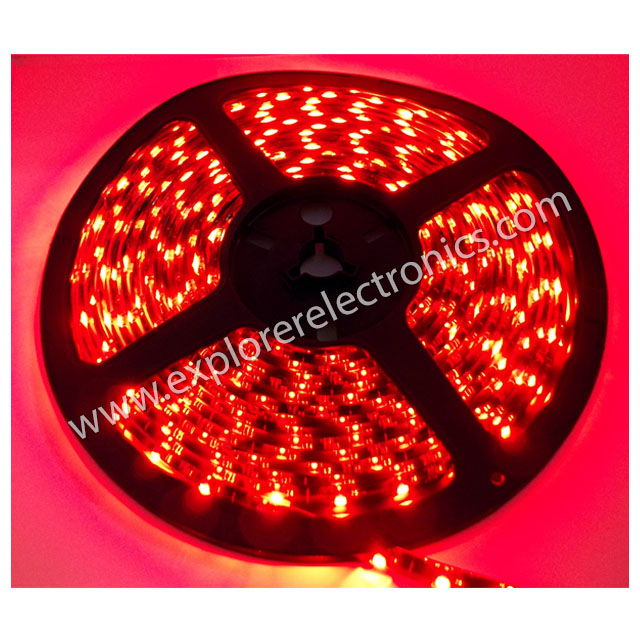 LED Flexible Strip 12VDC (SM3528-Red)