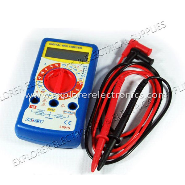 C-Mart Digital Multimeter (L0015)