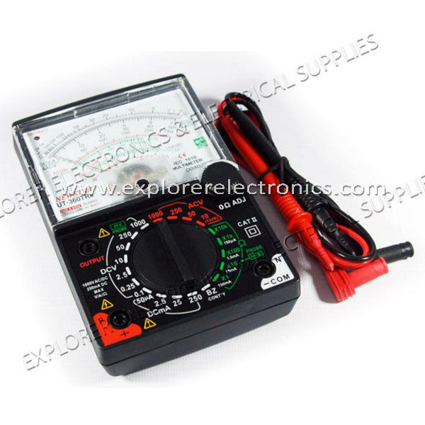 Newstar Professional Analog Multimeter (UT-360TRN)