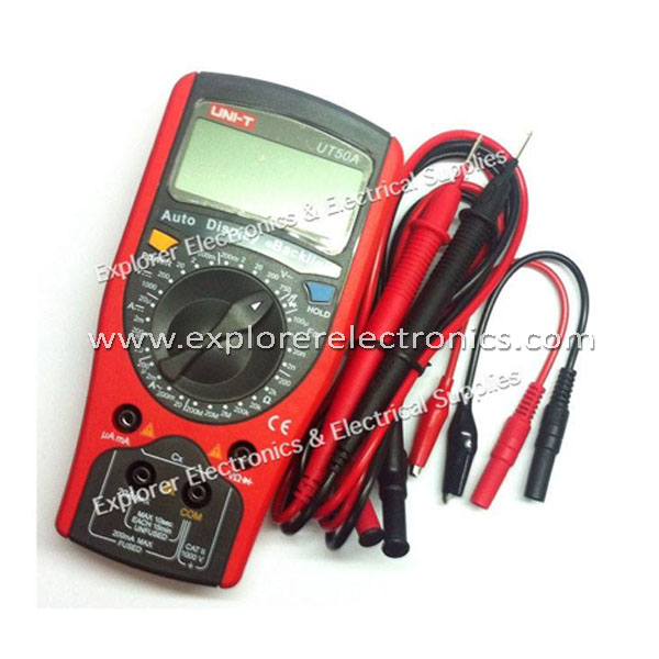 Newstar Standard Size Multiple Tester W/ Auto Display BackLight (UT-50A/NP)