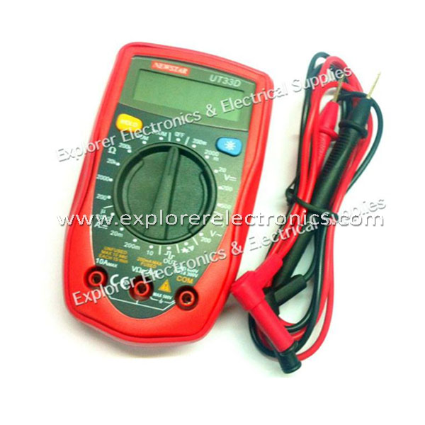 Newstar Modern Palm-Sized Digital Multimeter (UT-33D)