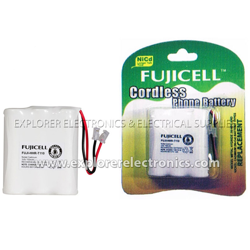 FUJI-HHR-T110 Battery for Panasonic Cordless Phone