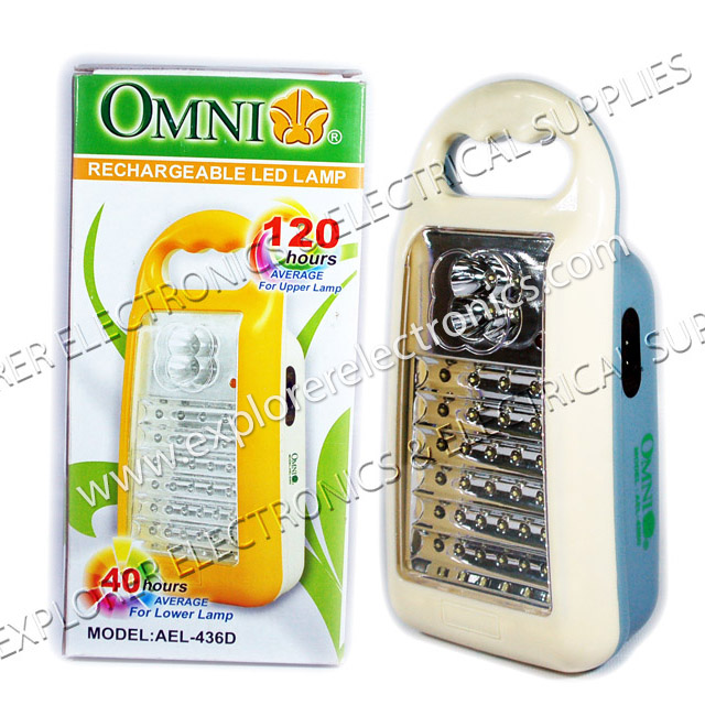 OMNI Rechargeable 40 LED Lamp (AEL-436D )