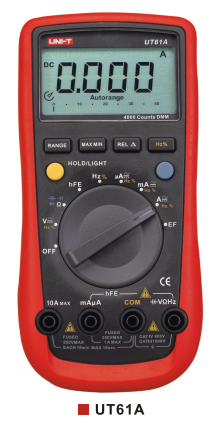 UNI-T UT61A Modern Digital Multimeters
