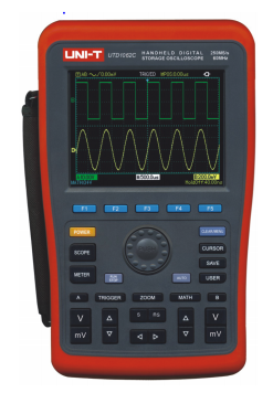 UNI-T UTD1062C Handheld Digital Storage Oscilloscopes