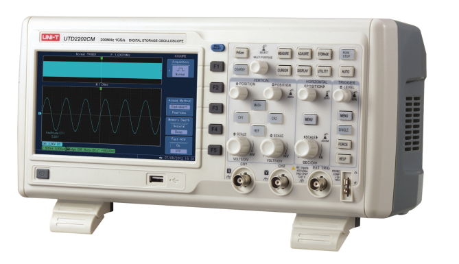 UNI-T UTD2202CM Digital Storage Oscilloscopes